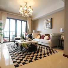 2018面积86平现代二居客厅装饰图片欣赏