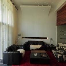 精选大小77平现代二居客厅装修实景图片