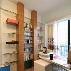 精美面积78平现代二居书房装修图片