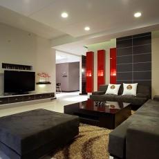 精选97平米三居客厅现代装修图片欣赏