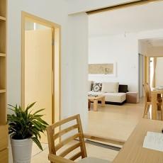 热门面积103平现代三居书房装饰图片欣赏