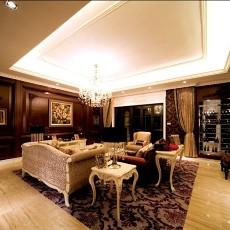 精选71平米二居客厅欧式装修效果图片欣赏