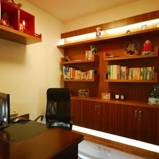 93平米三居书房新古典装饰图