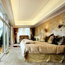 精美127平方欧式别墅卧室装修图片大全
