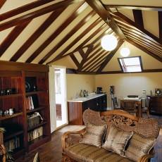 精美面积112平别墅书房美式装修图片
