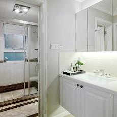 精美面积88平现代二居卫生间装修图片