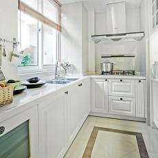 2018二居厨房现代实景图片欣赏