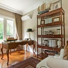 精选面积90平美式二居书房实景图