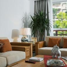 精选面积84平小户型客厅现代装修实景图片