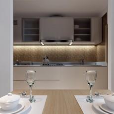 精美104平米三居厨房现代装修实景图片大全