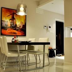 精选85平米现代小户型餐厅装饰图片大全