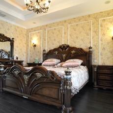 热门复式卧室美式装修设计效果图片欣赏