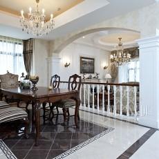 热门124平米欧式别墅客厅装修实景图片大全