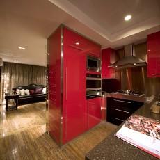 精美四居厨房欧式装修欣赏图片