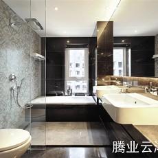 面积75平现代二居卫生间装饰图片大全