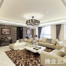 大小84平现代二居客厅装修图片
