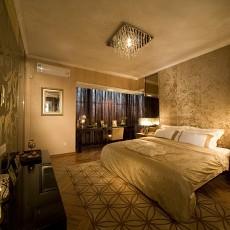 热门面积126平欧式四居卧室装修效果图片欣赏