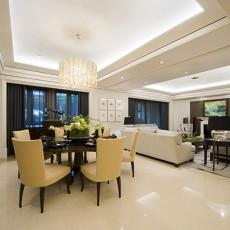 2018精选面积104平现代三居客厅装修设计效果图片