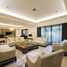 2018精选99平米三居客厅现代装修欣赏图片