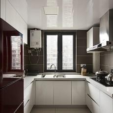 精选90平米二居厨房现代实景图片大全