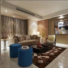 精选面积77平现代二居客厅欣赏图