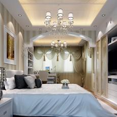 2018现代复式卧室装修设计效果图