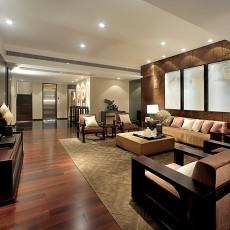 精选面积134平复式客厅中式装修图片欣赏