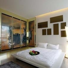 精选94平米三居卧室现代装修效果图片大全