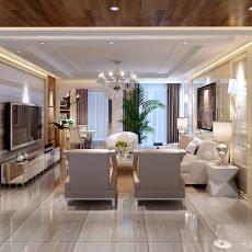 2018精选面积90平小户型客厅现代装饰图片