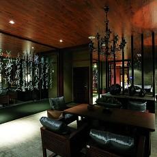 精选101平米三居餐厅中式装修效果图片欣赏