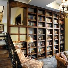 热门别墅书房美式效果图