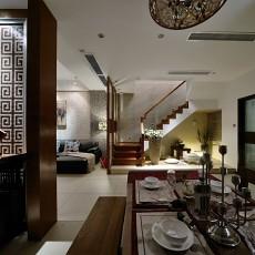 精选面积87平中式二居餐厅装饰图片欣赏