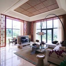 71平米中式小户型客厅装修实景图片欣赏