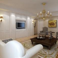 115平方欧式别墅客厅欣赏图片大全