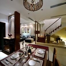 精选86平米二居餐厅中式实景图片