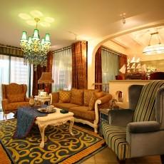 精选面积105平田园三居客厅装饰图片欣赏