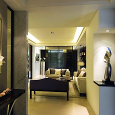精美82平米二居玄关现代装饰图片大全