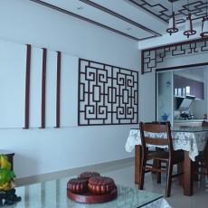 精美109平米三居餐厅中式实景图片大全