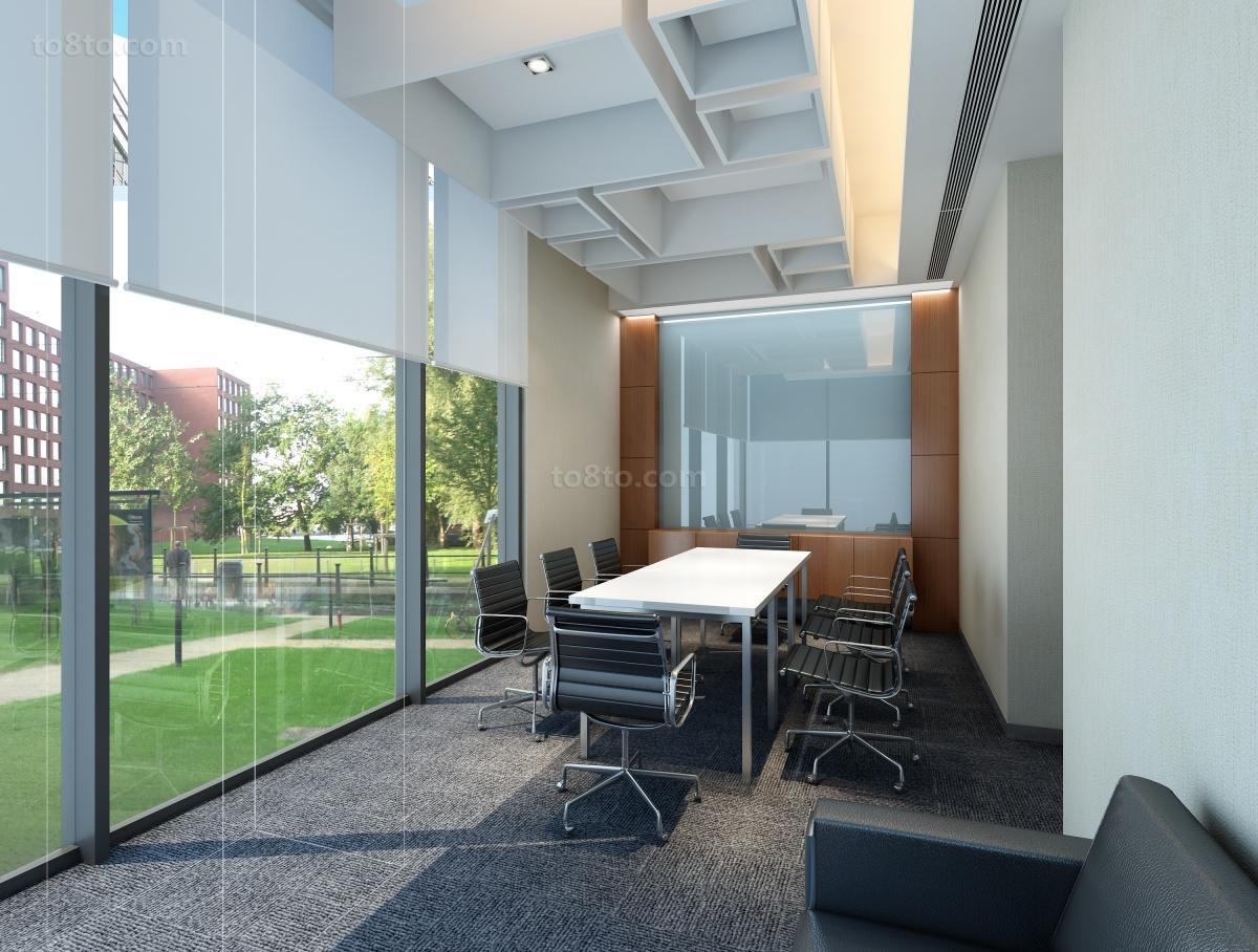 小型咖啡厅装修效果图_小型办公室装修设计-会议室-土巴兔装修效果图