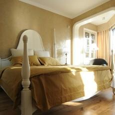 2018精选面积107平欧式三居卧室欣赏图片
