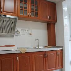 中式整体厨房效果图欣赏