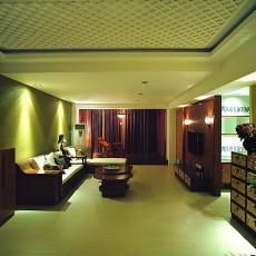 精美面积77平小户型客厅东南亚装修实景图