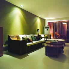 精选面积119平东南亚四居客厅效果图片欣赏