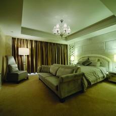 精选130平方欧式别墅卧室装修效果图
