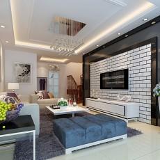 精选现代小户型客厅装修设计效果图