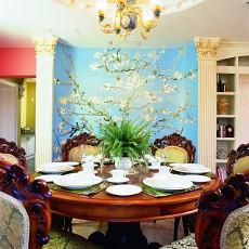 精选113平米欧式别墅餐厅装饰图片大全