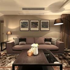 二居客厅现代装修实景图