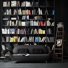 现代书房书柜装修设计图