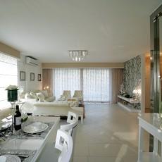热门87平米二居客厅欧式装饰图片欣赏