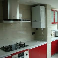 现代整体小厨房装修效果图欣赏
